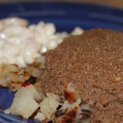 Garbage Plate Sauce Recipe - Meat sauce with a wonderful blend of spices to pour over your choice of meat, macaroni salad, or home fries.