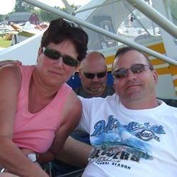 Barbara and husband at EAA