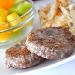 Breakfast Sausage Recipe and Video - Home-made sausage flavored with sage, marjoram, brown sugar, a bit of red pepper and a dash of cloves.