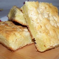 White Chocolate Blondie Brownies Recipe - Blondies, those light-colored sisters of the beloved brownie, get the enrichment of white chocolate that you crave. The basic recipe was handed down through the family.