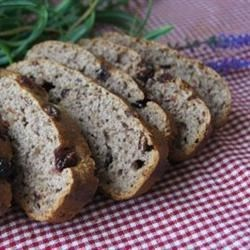 Cranberry Pignoli Nut Bread