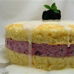 Glorious Sponge Cake Recipe - This is an old fashioned sponge cake with a lemon flavor.