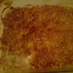 Chicken Crunch Recipe -   A buttery cracker capping gives this creamed chicken its name.