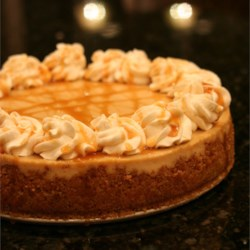 Caramel Macchiato Cheesecake Recipe - I work at a coffee shop and my favorite coffee drink is a caramel macchiato so I created a caramel macchiato cheese cake that has become my favorite cheese cake.