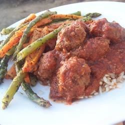 Middle Eastern Cumin Meatballs