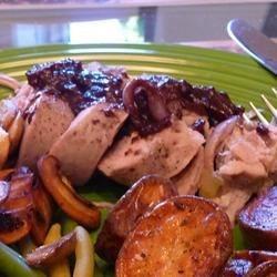 Burgundy Pork Tenderloin