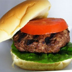 Delicious Grilled Hamburgers Recipe - This is a great no-nonsense Summer recipe. Just juicy, smoky, grilled hamburgers. Serve on buns with your favorite toppings.