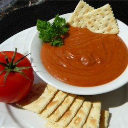 Welsh Rarebit I Recipe - Simple and delicious. Serve this sauce over crackers.