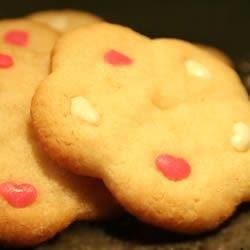 Shortbread Valentine Cookies