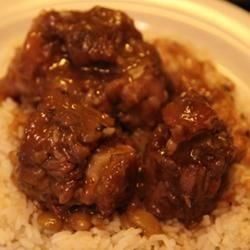 Jamaican Oxtail with Broad Beans Recipe - This is a  traditional Jamaican dish I was taught to cook by my grandmother.