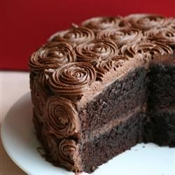 Black Magic Cake Recipe and Video - Super spooky dark chocolate cake. Suitable for all your black magic get-togethers.
