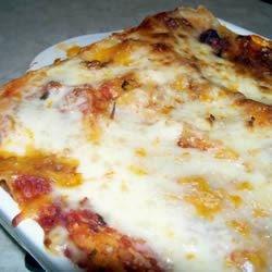 Béchamel Lasagna