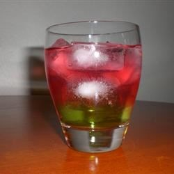 Candy Apple on the Rocks Recipe - This delicious cocktail tastes just like a candy apple!