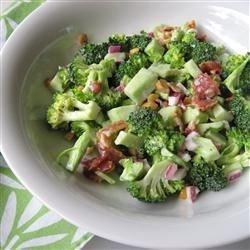 Broccoli Bacon Raisin Sunflower Seed Salad