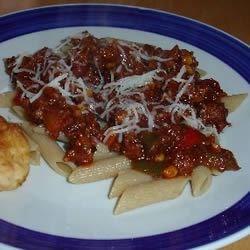 BBQ Chili Pasta
