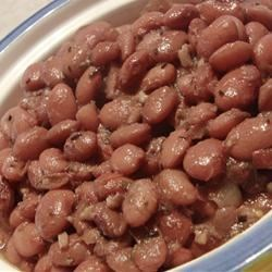 Frijoles de Olla Recipe - Pinto beans are cooked simply in this classic recipe. Make a batch for your next fiesta!