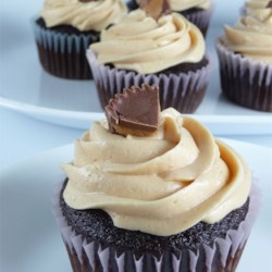 Peanut Butter Frosting Recipe - If you like peanut butter you'll love this frosting, great on chocolate cakes but for a real peanut butter experience try it on a peanut butter cake.  If you don't have cream, you may substitute milk.