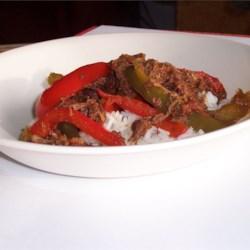 how to make pepper steak soft