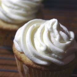 Whipped Cream Cream Cheese Frosting Recipe and Video - A delicate cream cheese frosting that has whipped cream folded into it.