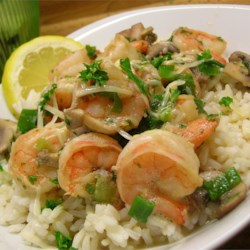 Shrimp Scampi Recipe - A simple but elegant shrimp scampi recipe. Combine it with garlic bread and a salad for a delicious dinner.