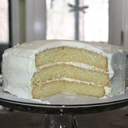 3 Layer White Chocolate Cake