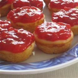 Lemon cheecake tarts