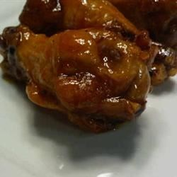 Steve's Bourbon Buffalo Wing Sauce Recipe - Try this sticky, Bourbon-spiked alternative to buttery hot sauce for your next batch of chicken wings.