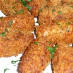 Ham Croquettes Recipe - A delicious, Cheddar cheesy ham croquette recipe that's great for entertaining.