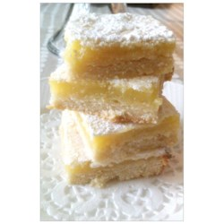 Annemarie's Lemon Bars Recipe - Annemarie is a German lady I met over 20 years ago, when we were living in Indiana. Talk about a good cook!