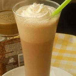 Coffee Shake Recipe - This is a blended-coffee treat much like an iced cappuccino you might buy at a restaurant.  You can make it non-dairy by using soy milk.