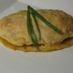 Nancy's Chicken in Puff Pastry Recipe - Chicken breasts with herbed cream cheese, wrapped in puff pastry and baked. Very easy and delicious dish, it's good for company!