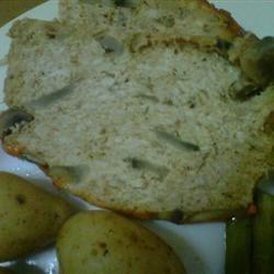 Chicken Mushroom Meatloaf