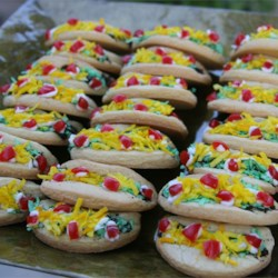 Cinco De Mayo Taco Cookies