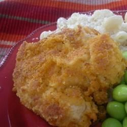 Spicy Oven Fried Chicken Recipe - If you like hot food, you'll love this spicy, breaded chicken recipe that's browned in a frying pan and finished in the oven.