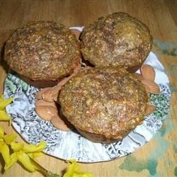 Coconutty Bran Flax Muffins