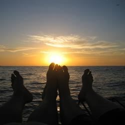 Sunset Toes, Cabo, MX