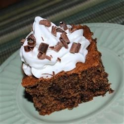 Heavenly Cake Recipe - An incredibly rich chocolate cake that needs no frosting.