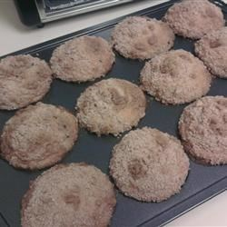 Awesome banana muffins.