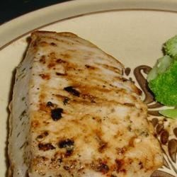 Grilled Citrus Tuna Recipe - An easy marinade made with orange juice, olive oil, herbs, salt, and pepper compliments grilled tuna with its subtle orange flavor.