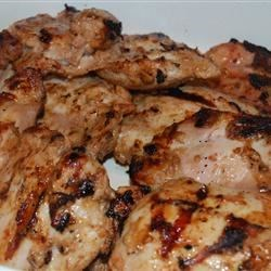 Grilled Chicken Thighs Tandoori
