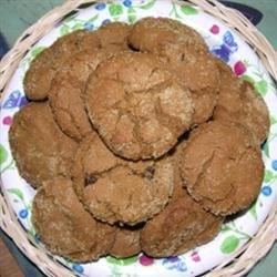 Soft Molasses Cookies I Recipe - This is a soft molasses cookie from about 30 years ago. If do not like walnuts, substitute with raisins or other types of nuts.