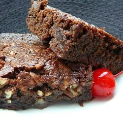 Kristin's Fudgy Brownies Recipe - These brownies are fudgy and easy to make. Kids will LOVE them!!