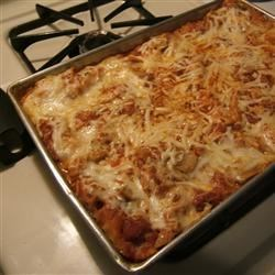 Buffalo Cheesy Chicken Lasagna
