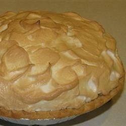 Grandma's Lemon Meringue Pie - with a little twist