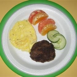 Homemade Beef Breakfast Sausage Patties Recipe - This sausage is made with ground beef and a bevy of seasonings.