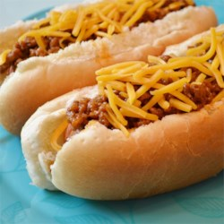 Grandpa's Classic Coney Sauce Recipe - Ground beef is simmered in a tangy sauce with onion. My Grandfather owned a drive-in restaurant back in the 1950's. This is his exact recipe for Coney Dogs from back in the day. I make this on special occasions and it is always hit with friends and family. Enjoy.