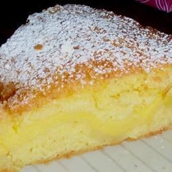 Basque Cake Recipe - A Basque specialty that has pastry cream encased in a light shortdough pastry.