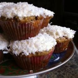Banana Coconut Cupcakes
