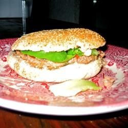 Spicy Ranch Hamburger