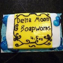 """Bar of Soap"" cake"
